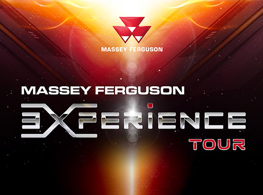MF Experience Tour Design graphique