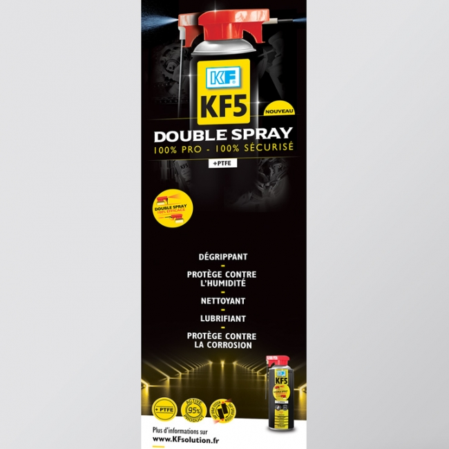 KF5 DOUBLE SPRAY